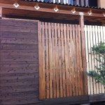 DIYでウッドデッキに目隠しフェンスと収納庫を作った