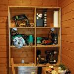 合板を使って収納家具をDIYする 2日目 工具棚
